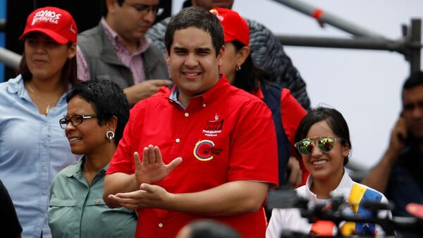 Nicolás Maduro Guerra, hijo del presidente de Venezuela, Nicolás Maduro - Sputnik Mundo