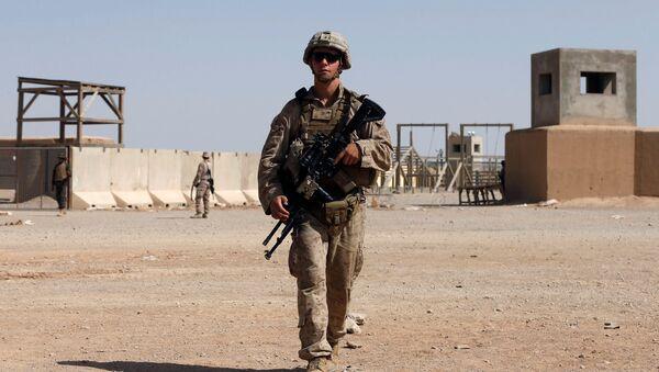 Un soldado estadounidense en Afganistán (archivo) - Sputnik Mundo