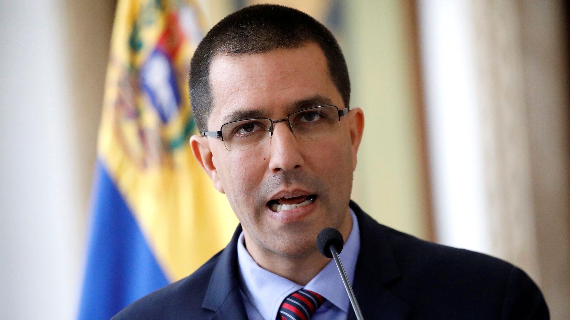 Jorge Arreaza, el canciller de Venezuela - Sputnik Mundo, 1920, 04.02.2021