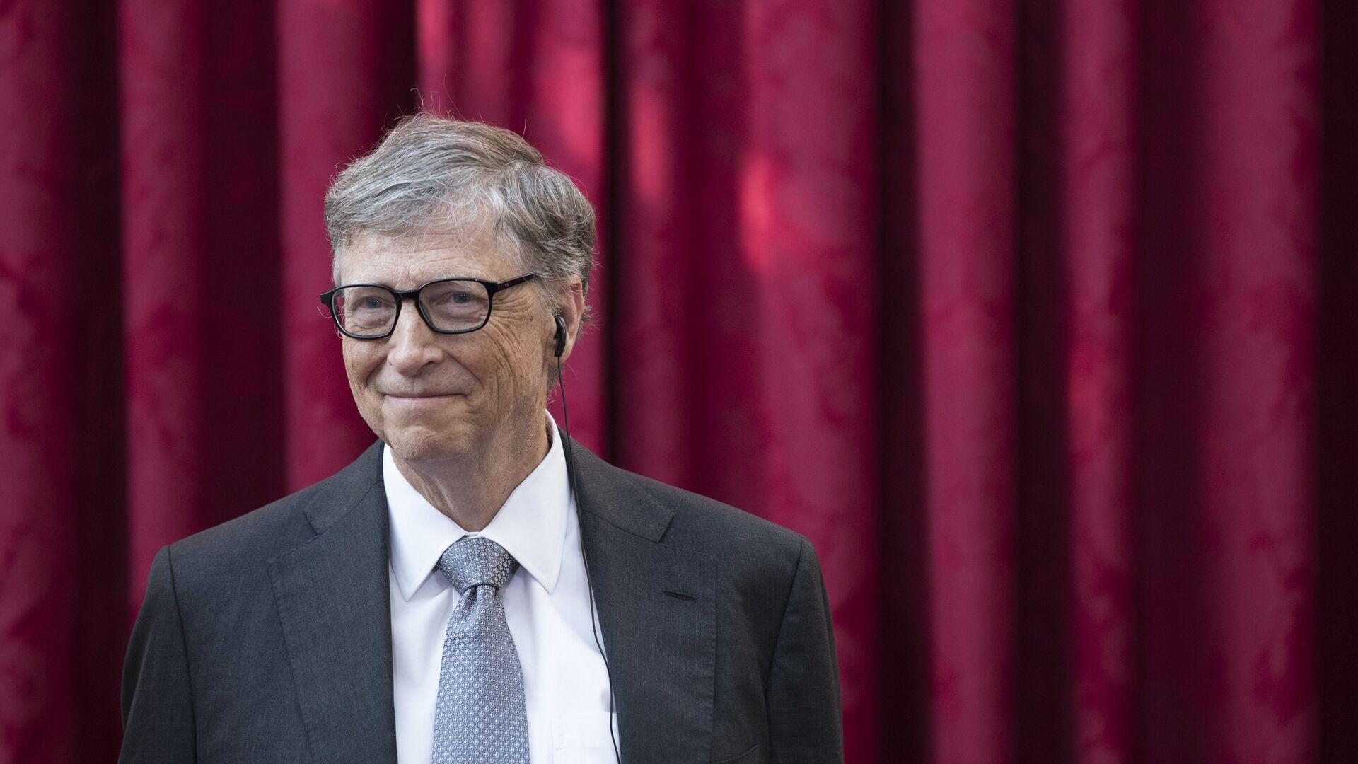 Bill Gates, cofundador de Microsoft - Sputnik Mundo, 1920, 15.02.2021