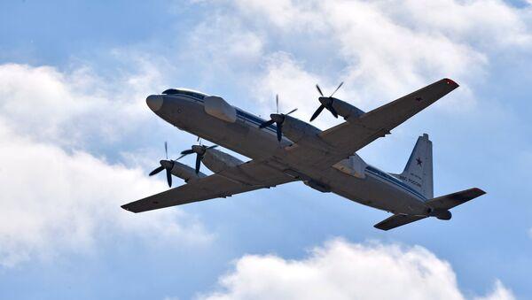 El avión de guerra electrónica Il-22 PP - Sputnik Mundo