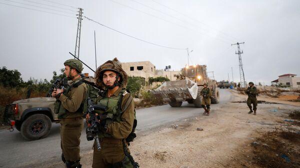 Soldados del Ejército israelí (imagen referencial) - Sputnik Mundo