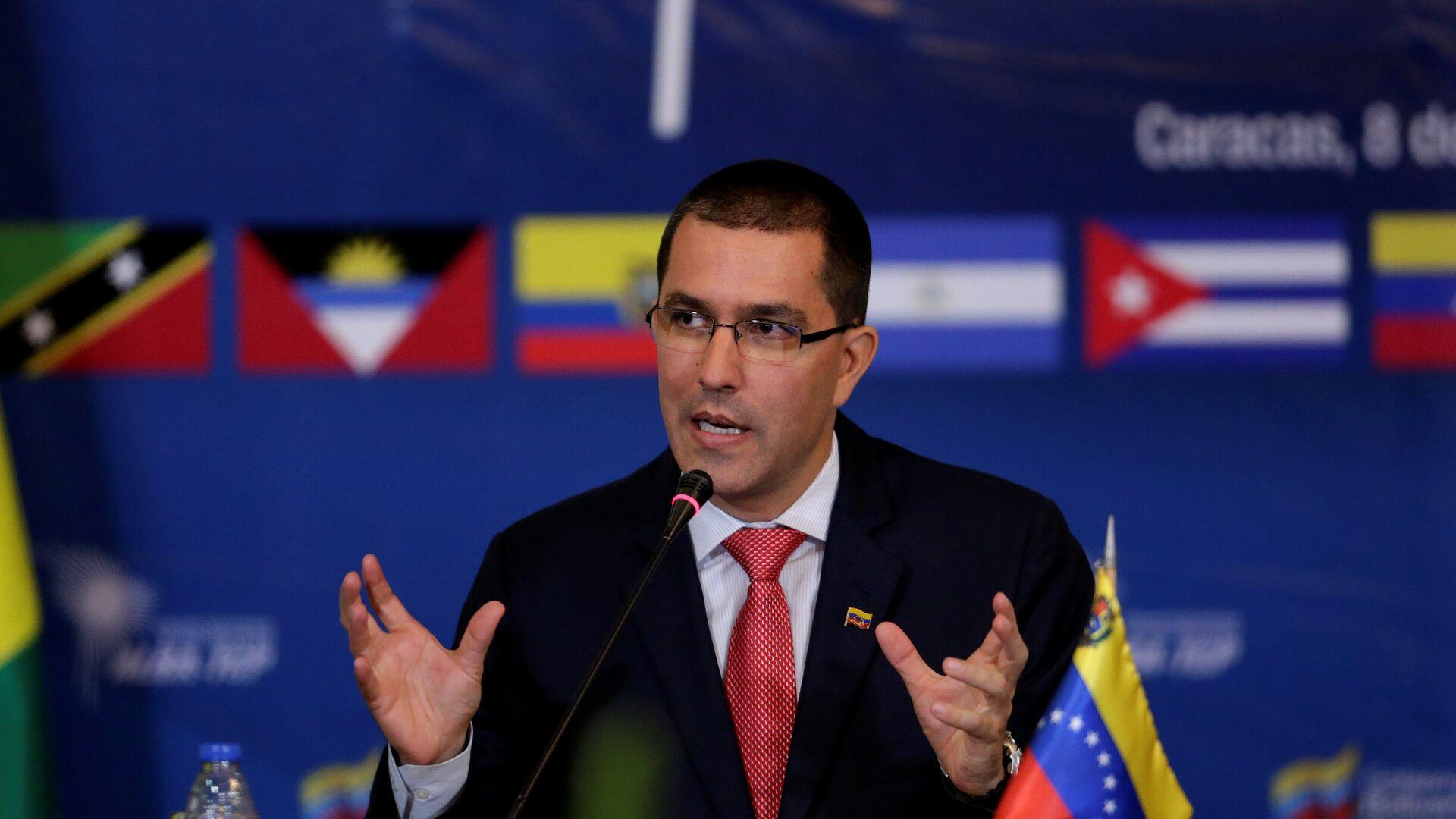 Jorge Arreaza, el canciller venezolano - Sputnik Mundo, 1920, 10.02.2021