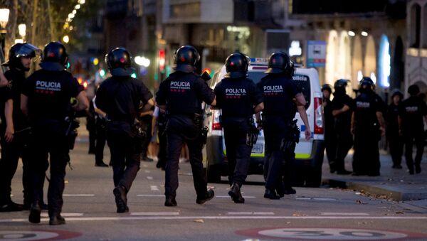Situación en Barcelona - Sputnik Mundo