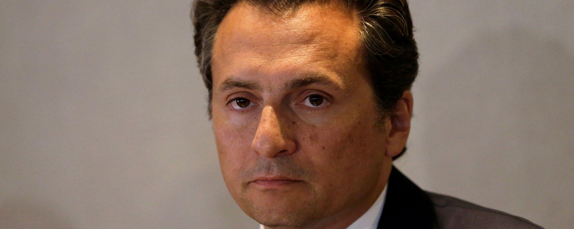 Emilio Lozoya, former chief Executive Officer of Petroleos Mexicanos (Pemex)  - Sputnik Mundo, 1920, 03.02.2021