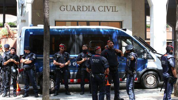 Policía de Cataluña - Sputnik Mundo