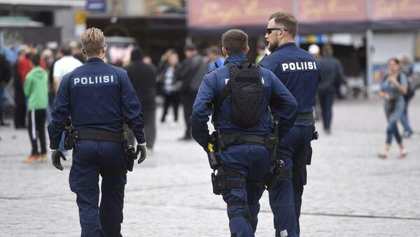 Policía de Finlandia (Archivo) - Sputnik Mundo