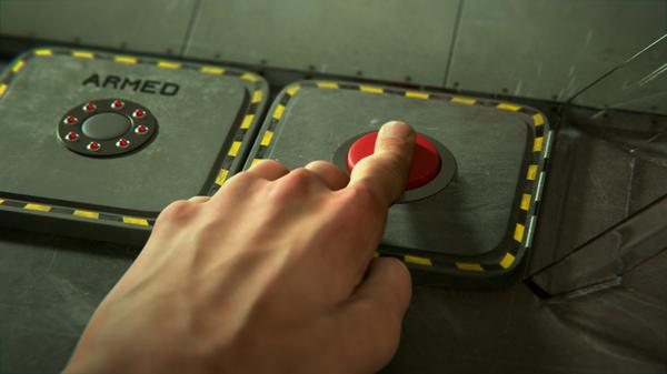 Botón rojo (imagen referencial) - Sputnik Mundo