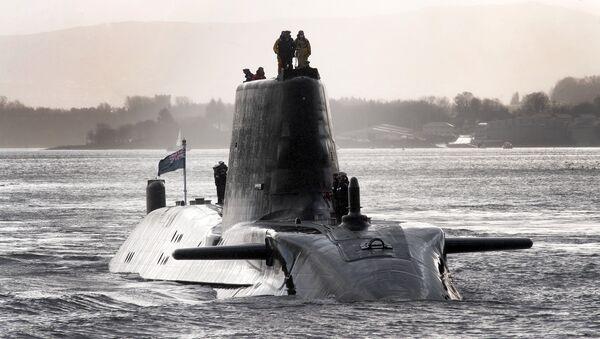Submarino nuclear británico (archivo) - Sputnik Mundo