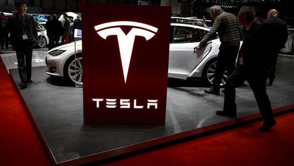 Logotipo de Tesla - Sputnik Mundo