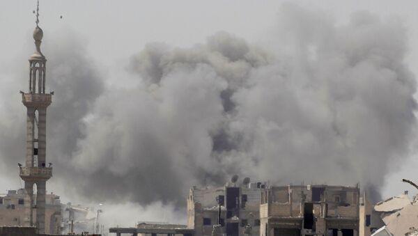 Situación en la ciudad siria de Al Raqa - Sputnik Mundo