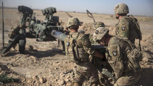 Los soldados estadounidenses en Afganistán (archivo) - Sputnik Mundo