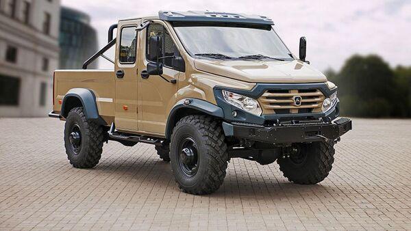 GAZ Vepr Next, camioneta todoterreno rusa - Sputnik Mundo