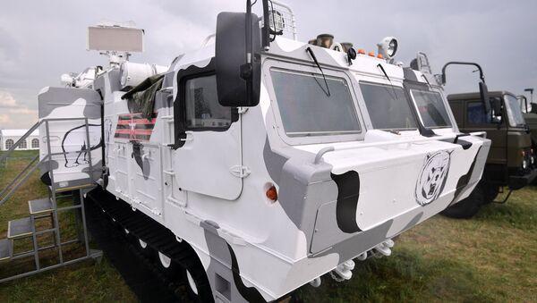 El sistema antiaéreo ruso Tor-M2DT - Sputnik Mundo