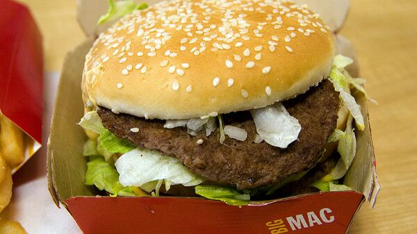 Un Big Mac - Sputnik Mundo