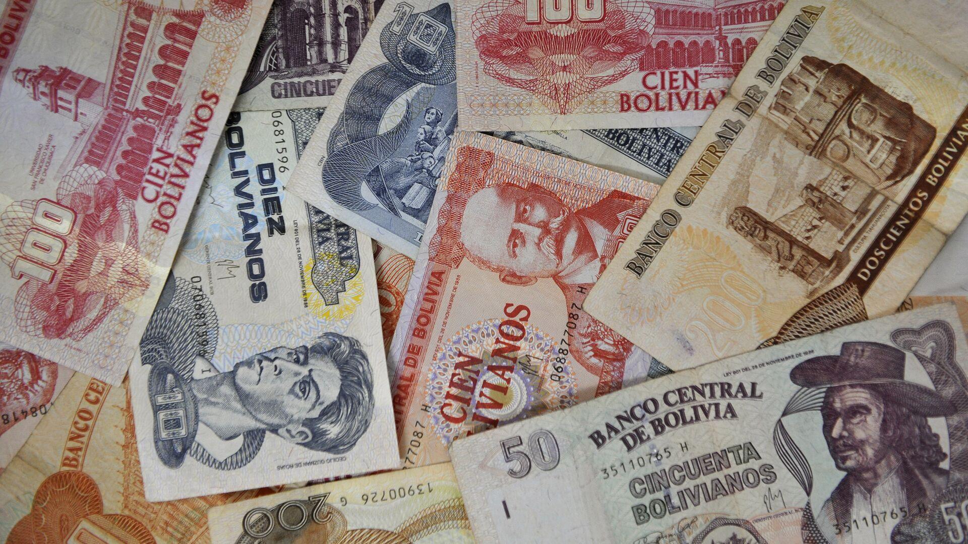 Bolivianos (billetes) - Sputnik Mundo, 1920, 17.09.2021