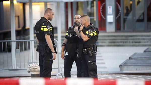 Policías de Rotterdam (Archivo) - Sputnik Mundo