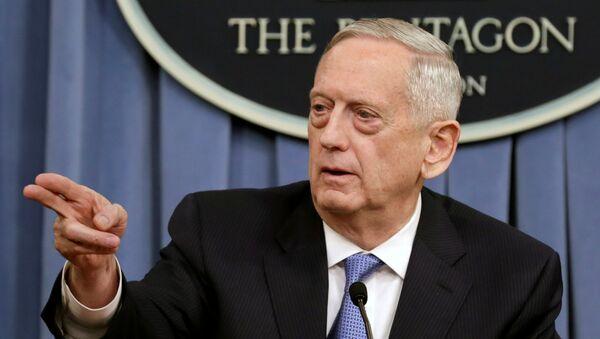 James Mattis, secretario de Defensa de EEUU (archivo) - Sputnik Mundo