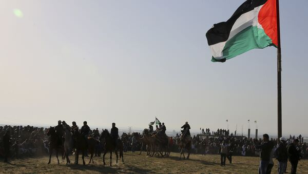 Unos beduinos (archivo) - Sputnik Mundo