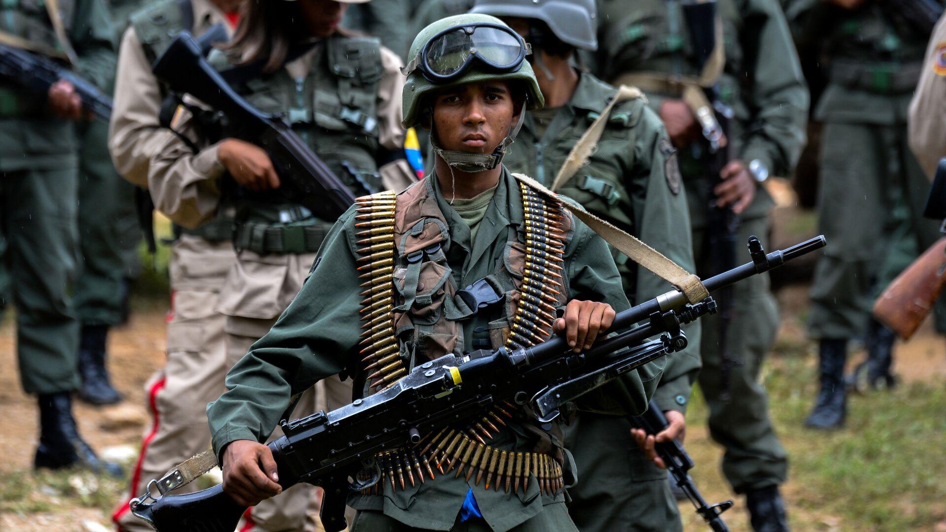 Un soldado venezolano - Sputnik Mundo, 1920, 01.10.2021