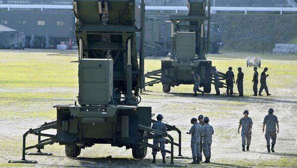 Los sistemas Patriot PAC-3 en Japón - Sputnik Mundo