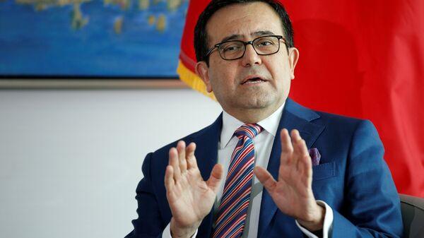 Ildefonso Guajardo, secretario de Economía de México (archivo) - Sputnik Mundo