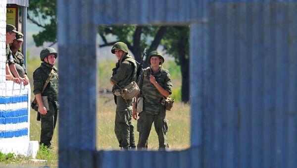 Misión de paz rusa en Transnistria - Sputnik Mundo