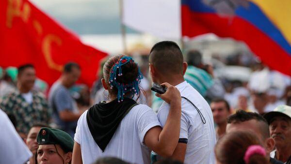 Ciudadanos colombianos - Sputnik Mundo