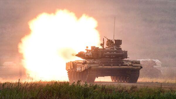 Un tanque T-90 - Sputnik Mundo