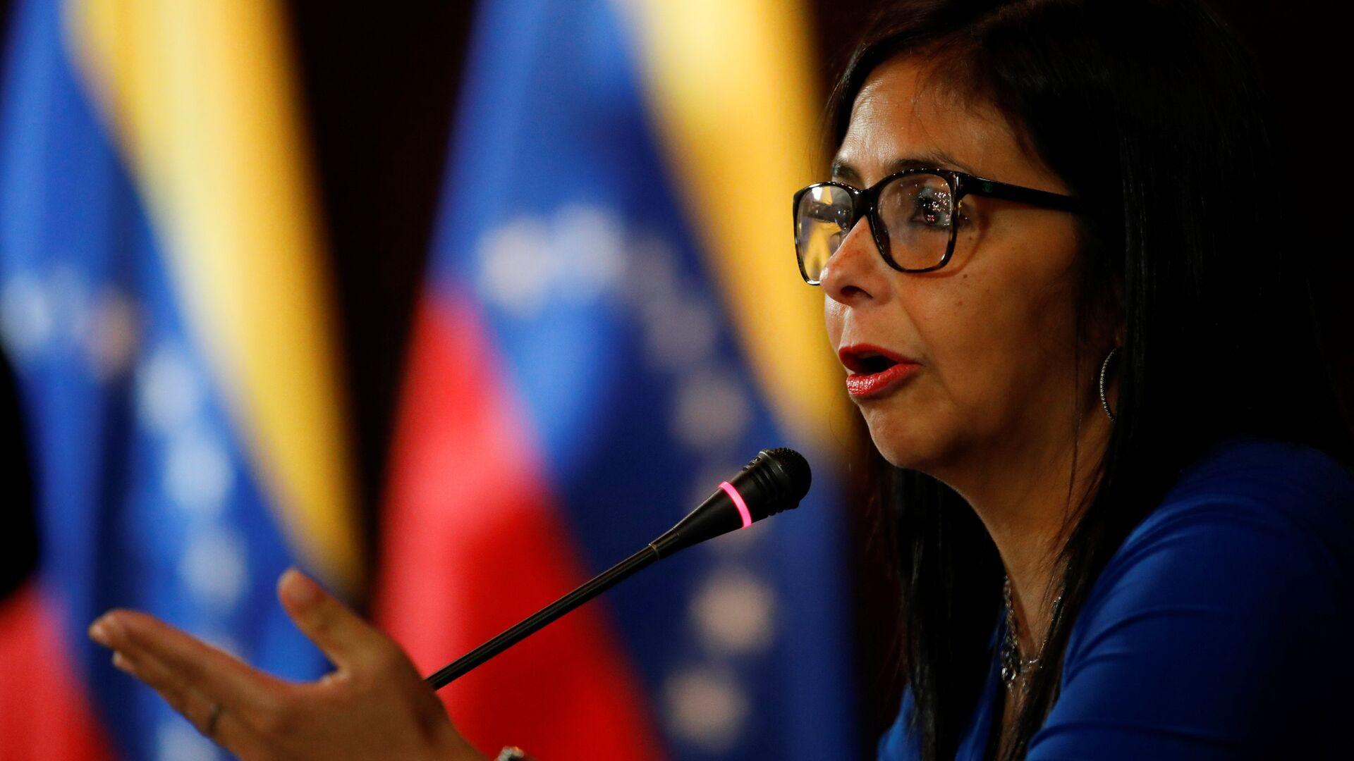 Delcy Rodríguez, vicepresidenta de Venezuela - Sputnik Mundo, 1920, 15.09.2021
