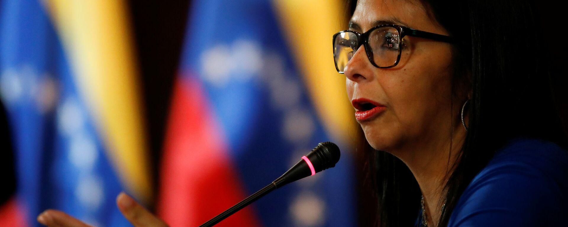 Delcy Rodríguez, vicepresidenta de Venezuela - Sputnik Mundo, 1920, 22.09.2021