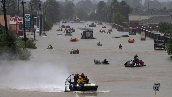 Inundación en Texas (archivo) - Sputnik Mundo