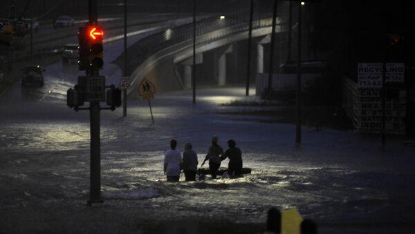 Inundaciones en Houston - Sputnik Mundo