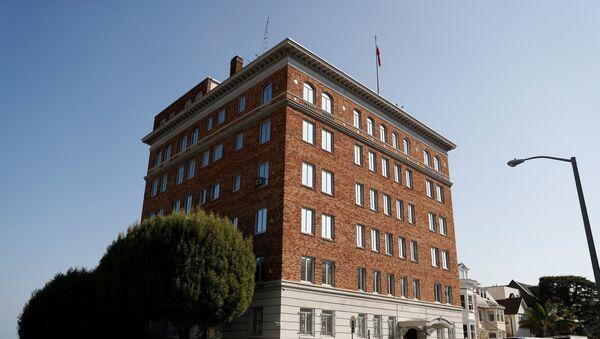 El Consulado de Rusia en San Francisco, EEUU (archivo) - Sputnik Mundo