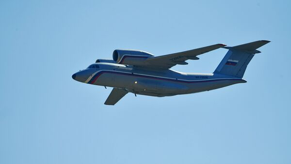 Un avión An-72 (archivo)  - Sputnik Mundo