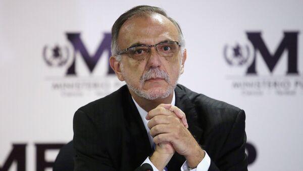 Iván Velásquez, el jefe de la Comisión Internacional Contra la Impunidad en Guatemala (archivo) - Sputnik Mundo
