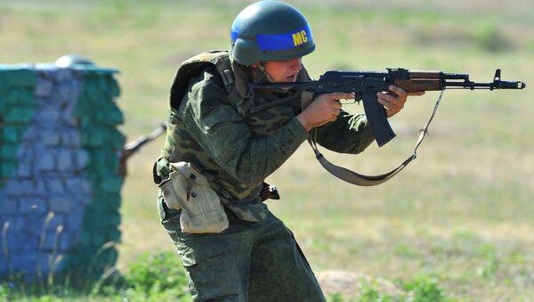Militar ruso en Transnistria - Sputnik Mundo