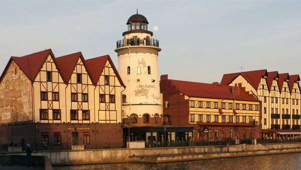La ciudad rusa de Kaliningrado - Sputnik Mundo
