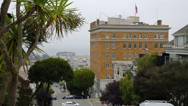 Consulado de Rusia en San Francisco, EEUU - Sputnik Mundo