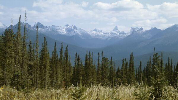 Yergaki range in the West Sayany mountain range, southern Siberia. (File) - Sputnik Mundo