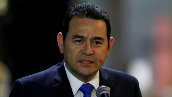 Jimmy Morales, presidente de Guatemala - Sputnik Mundo
