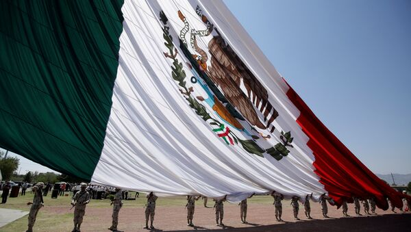 La bandera de México - Sputnik Mundo