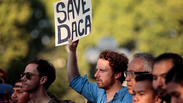 La manifestación a favor de DACA en EEUU (Archivo) - Sputnik Mundo
