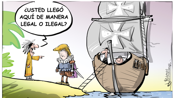 Trump cierra el programa migratorio para niños - Sputnik Mundo