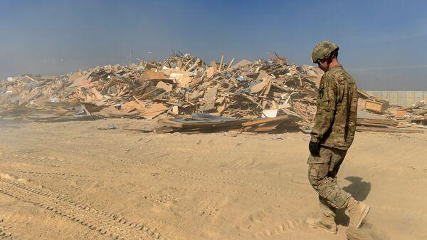Base aérea de EEUU en Bagram, Afganistán - Sputnik Mundo