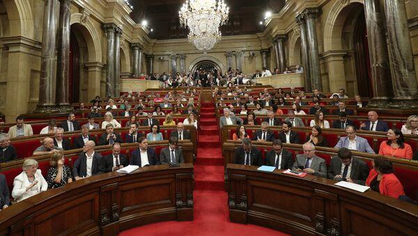 El Parlamento de Cataluña (archivo) - Sputnik Mundo