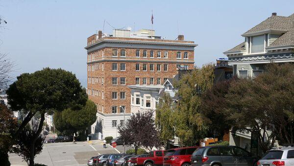 Consulado de Rusia en San Francisco, EEUU (archivo) - Sputnik Mundo
