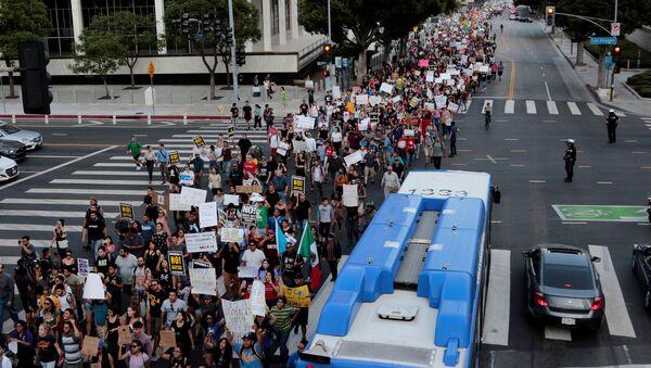 Protesta a favor del DACA en EEUU - Sputnik Mundo