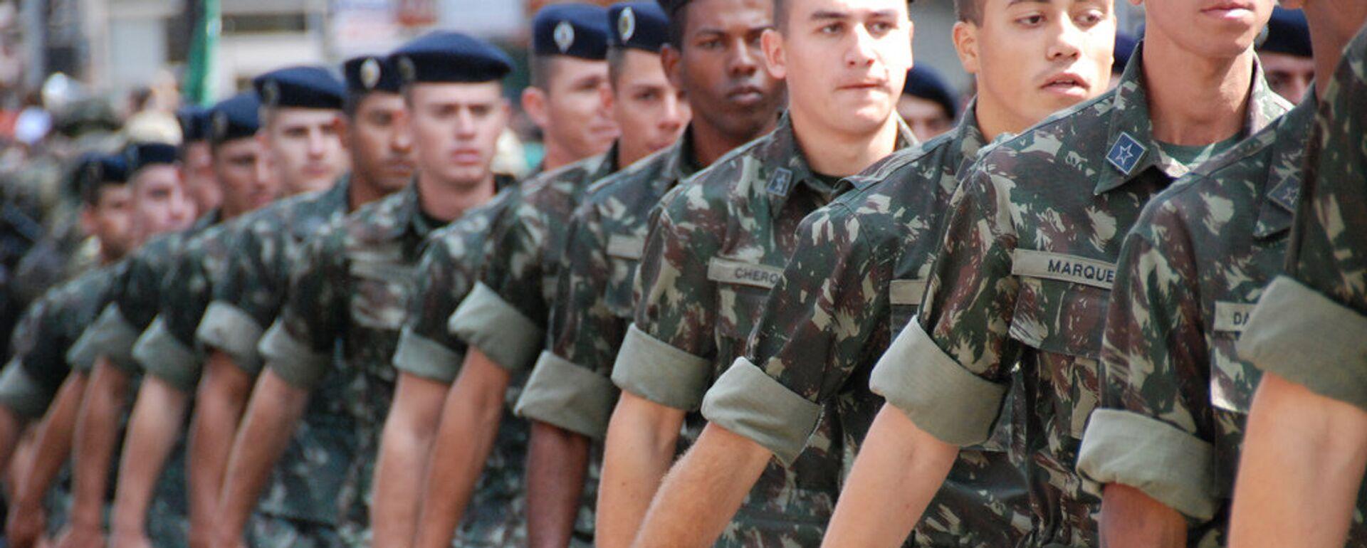 Desfile del Ejército de Brasil  - Sputnik Mundo, 1920, 17.08.2021