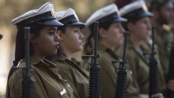Las mujeres del Ejército de Israel (archivo) - Sputnik Mundo